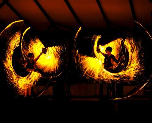 Feuerseil-Choreografie